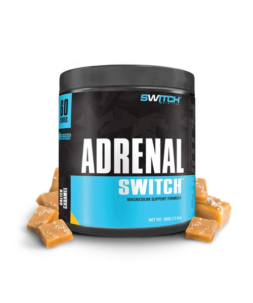 Switch Nutrition- Adrenal Switch 60 servings ( Salted Caramel)
