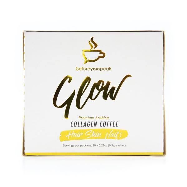 Before You Speak GLOW -BOX -Collagen Coffee