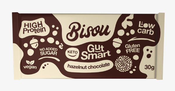 Bisou- Keto Chocolate(Hazelnut) 30g