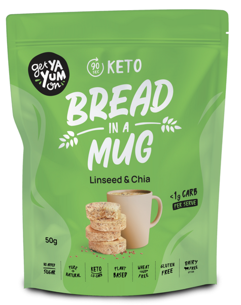 Get Ya Yum On-Linseed Chia Bread-60g