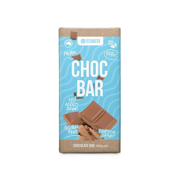 Vitawerx - Milk Chocolate 100g Bar
