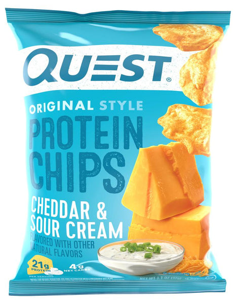 Quest Nutrition- Cheddar & Sour Cream Protein Chips 32g