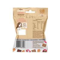Slim Secrets-Choc Love Bites - Protein Milk Chocolate with Crushed Almond 36g