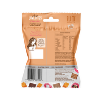 Slim Secrets-Choc Love Bites - Protein Milk Chocolate with Salted Caramel Crisps