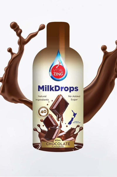 VitalZing - Chocolate MilkDrops 40mls