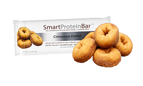 Smart Diet Solutions- Smart Protein Bar- Cinnamon Donut