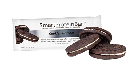 Smart Diet Solutions- Smart Protein Bar- Cookies & Cream