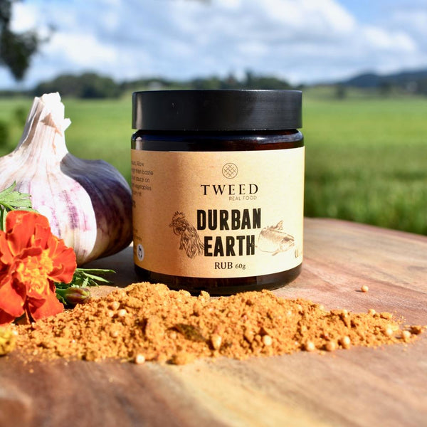 Tweed Real Food-Durban Earth Curry Rub(60g)