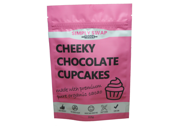Simply Swap Foods-Cheeky Chocolate Cupcakes-315g