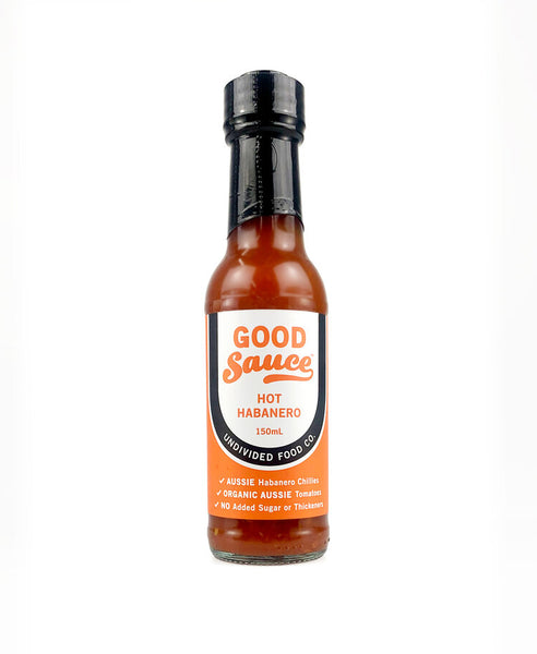 GOOD Sauce™ Hot Habanero 150ml