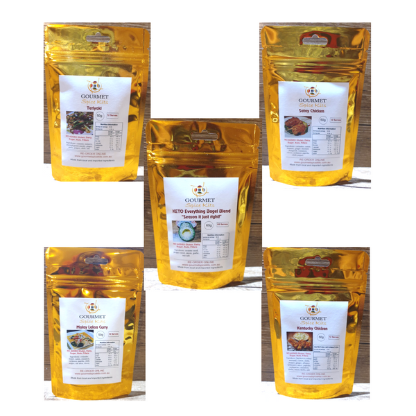 Gourmet Spice Kits-All Rounder Spice Value Pack(5 pack)