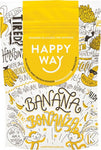 HAPPY WAY - Banana Whey Protein Powder - 60g