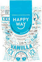 HAPPY WAY - Vanilla Whey Protein Powder - 60g