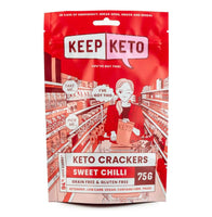 Keep Keto - Sweet Chilli Crackers- 75g