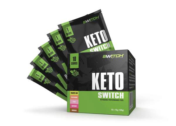 Switch Nutrition-Keto Switch- 10 Serves Multipack ( 2 of each flavours)