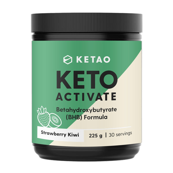 Ketao- KETO ACTIVATE - KETONES Strawberry Kiwi(225g) 30 servings