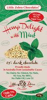 Little Zebra Hemp Delight Dark Chocolate Mint-85g