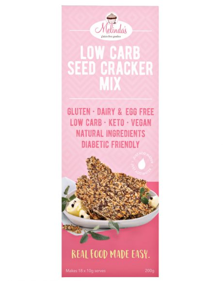 Melinda's- Low Carb Seed Cracker Mix 200g