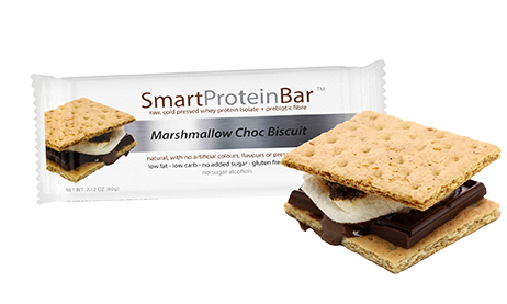 Smart Diet Solutions- Smart Protein Bar-Marshmallow Choc Biscuit