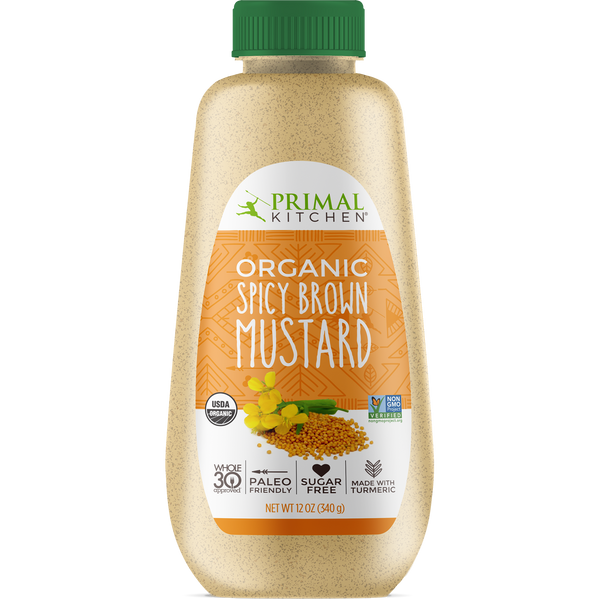 Primal Kitchen-Organic Spicy Brown Mustard 340g