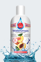 VitalZing - Peach WaterDrops 45mls