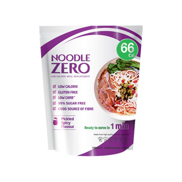 Noodle Zero -Pickled Spicy Flavour - Low Calorie