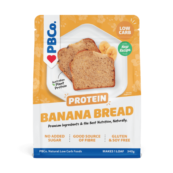 The Protein Bread Co Plant Based Protein Banana Bread 340g