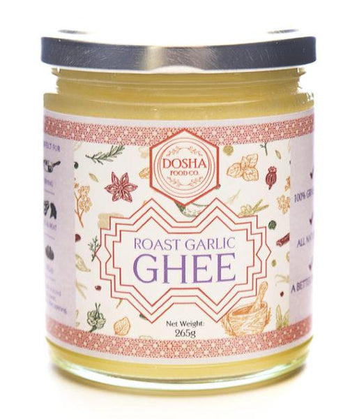 Dosha Food Co- Ghee (Roast Garlic) 200g