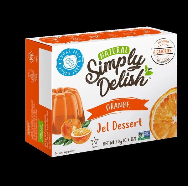 Simply Delish - Jel Dessert - Orange (20g)