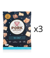 Pascal- Pascal's Pork Scratchings - 100g x3pk Pork Crackle Value Pack