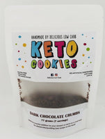 Delicious Low Carb- Keto Dark Chocolate Cookie Crumbs(77g)