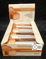 Smart Diet Solutions- (Bulk Buy 12 bars) Keto Smart Bar- Honey Nougat
