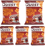 Bulk Buy 5 packs-Quest Nutrition-BBQ Flavour Protein Chips