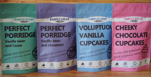 Tasting pack-Simply Swap Foods(4 amazing products)