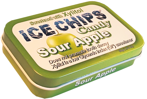 Ice Chips Candy -Sour Apple 50g