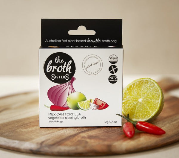 The Broth Sisters-Mexican Tortilla Sipping Broth-12g(2 broth bags)
