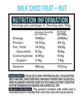 Bulk Buy -Vitawerx - Milk Chocolate Fruit & Nut 100g Barx12 bars