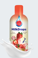 VitalZing - Strawberry Milk Drops 40mls