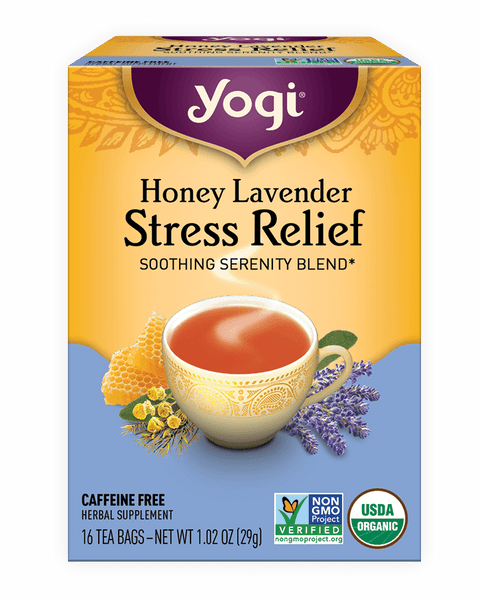 Yogi Tea- Honey Lavender Stress Relief x 16 teabags