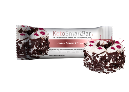 Smart Diet Solutions- Keto Smart Bar-Black Forest