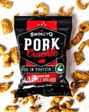 SmokeyQ- Pork Crackle(Chipotle BBQ )50gx5 packs Bulk Buy