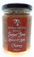 Hawthorne Hill- Sugar Free Apricot and Apple Chutney 250g