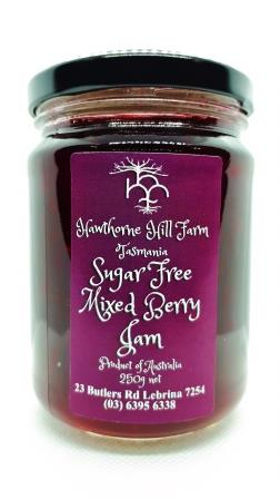 Hawthorne Hill- Sugar Free Mixed Berry Jam 250g