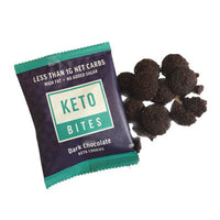 Keto Bites-Dark Chocolates Keto Mini Cookies-25g