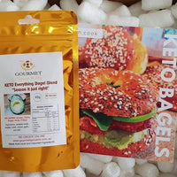 "Gourmet Spice Kits- Everything Bagel Blend""Season it just right""(65g)-65 Serves"