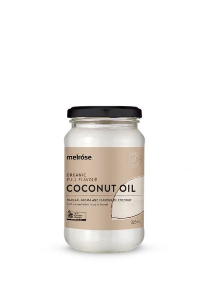 Melrose- Organic Full Flavour Coconut Oil 325ml