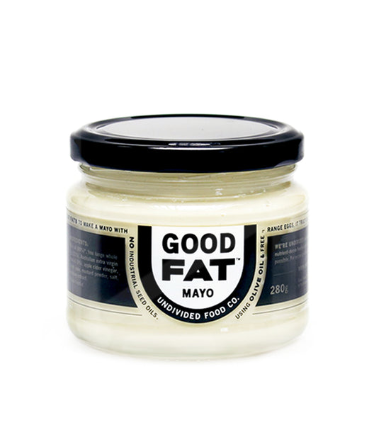 Undivided Food Co- NEW! GOOD FAT Mayo Made with Olive Oil and Free Range Whole Eggs 280g