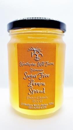 Hawthorne Hill- Sugar Free Lemon Spread 250g