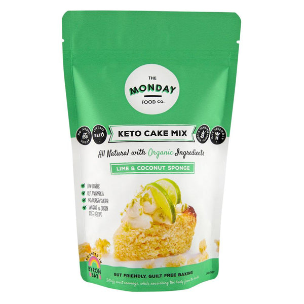 The Monday Food Co-Lime Coconut Sponge(250g)