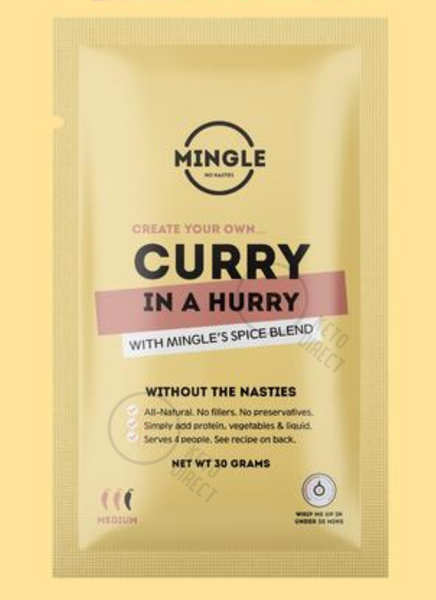 Mingle Seasoning- CURRY IN A HURRY 30g sachet